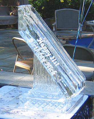 Straight Ice Luge