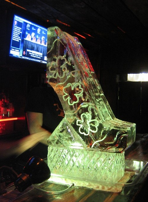 Ice Luge Green